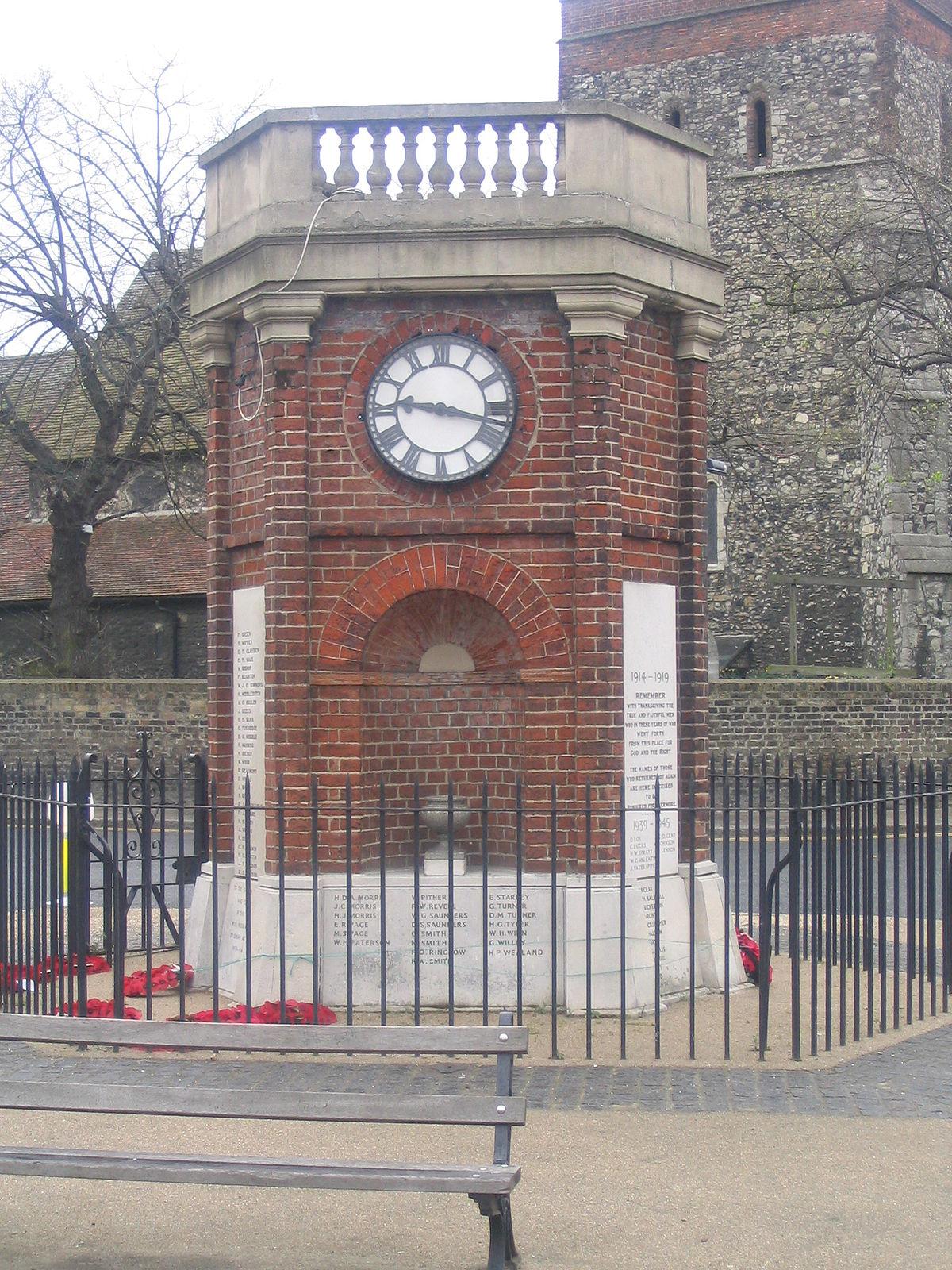 Rainham War Memorial Wikipedia