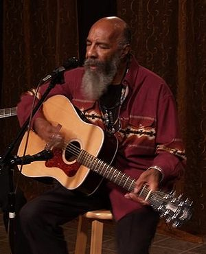 Afro-American singer Richie Havens in 2006