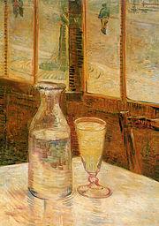 Tĩnh v�t với absinthe, 1887