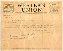 Image result for Western Union dispatches its last-ever telegram