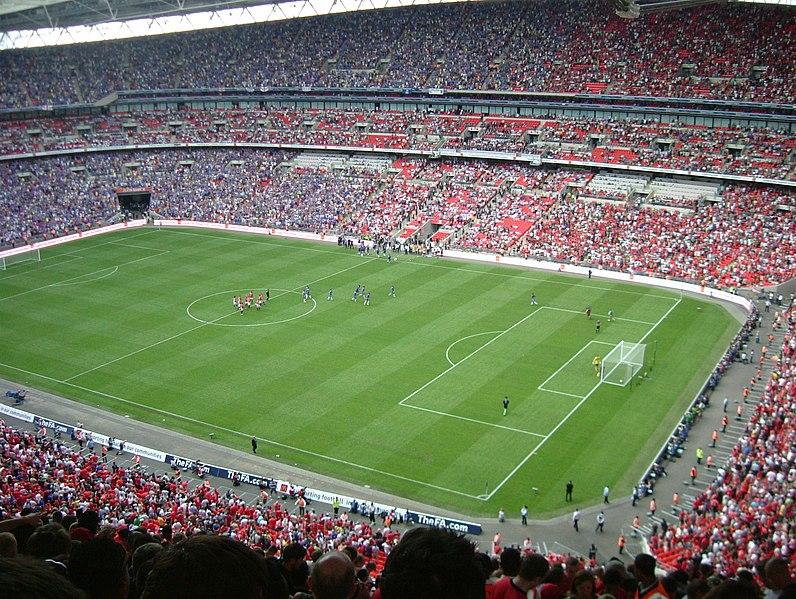 2009 FA Community Shield at Wembley Stadium