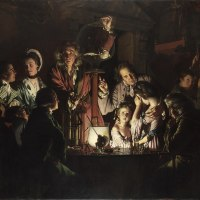 """An Experiment on a Bird in the Air Pump"" by Joseph Wright of Derby"