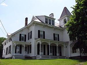 English: Clayton H. Delano House, Ticonderoga,...