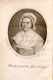 Elizabeth Bentley (writer) - Wikiquote
