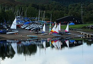 English: Kielder Water Sailing Club