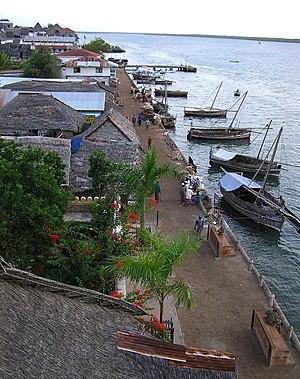 Lamu harbour
