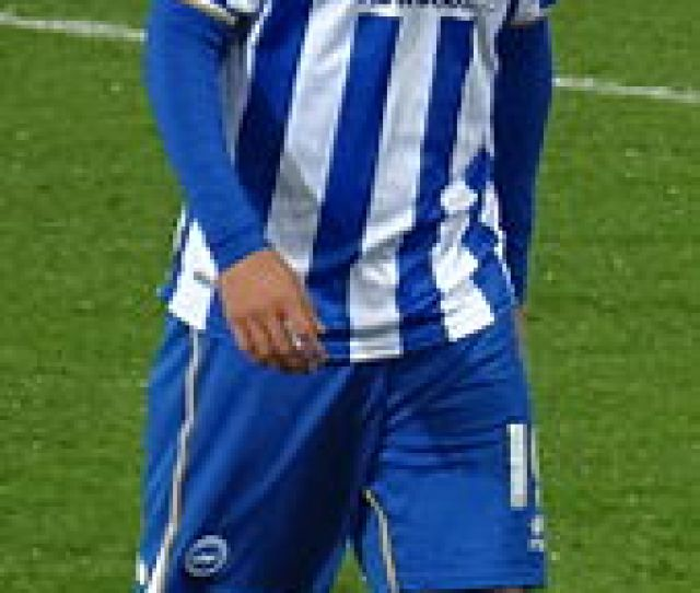 Ulloa Playing For Brighton Hove Albion In