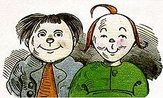 Max e Moritz, disegnati da Busch
