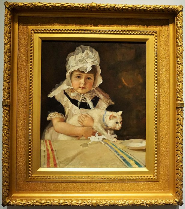 "National Gallery of Australia - Joy of Museums - ""Miss Minna Simpson"" by Tom Roberts"