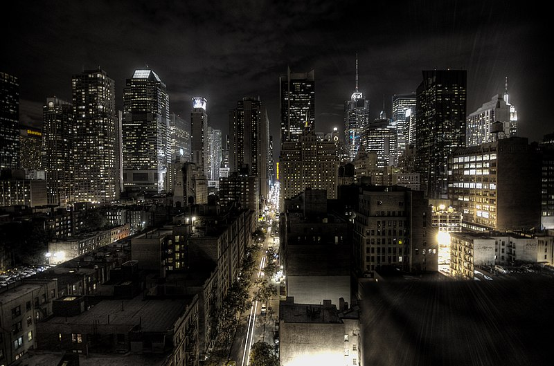 HDR of New York City
