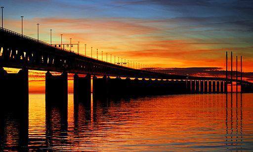 Oresund Bridge - Malmo, Sweden