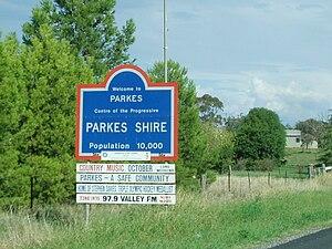 Parkes Centre of the Progressive.