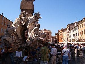 "The ""Fontana dei Quattro Fiumi"" (Fou..."