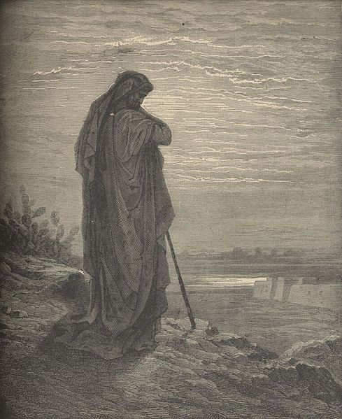 Amos the Prophet, an engraving by Gustave Doré