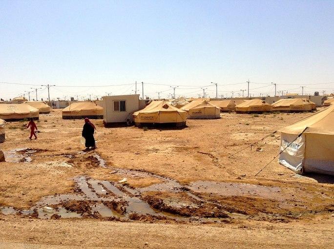 Zaatari refugee camp, Jordan (9664136844)