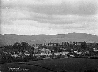 'Leintwardine' from Church Hill