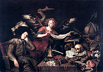 """The Knight's Dream"" by Antonio de P..."
