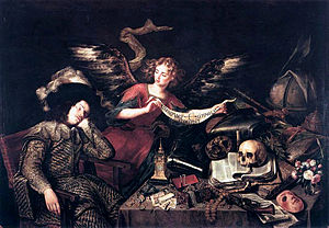 """The Knight's Dream"", 1655, by Anton..."
