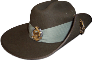 English: A picture of my ceremonial slouch hat...