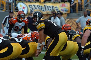 Ben Roethlisberger against the Cincinnati Bengals