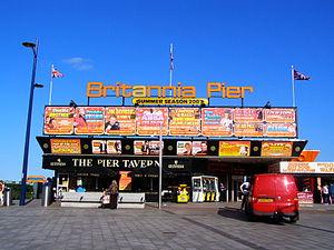 English: Britannia Pier, Marine Parade, Great ...