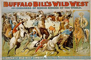 English: Buffalo Bill's Wild West Show and Con...