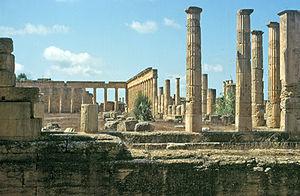Libia, Cirene (sito archeologico), Ginnasio
