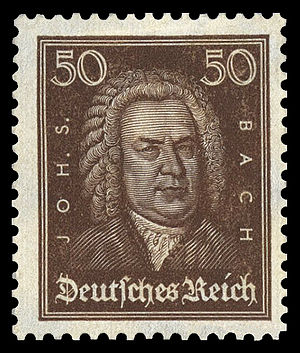 series of stamps of the German Empire, Johann ...