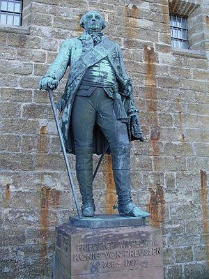 Statue von Friedrich Wilhelm II., König von Pr...