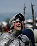 English: A Knight in a re-enactment of the Bat...