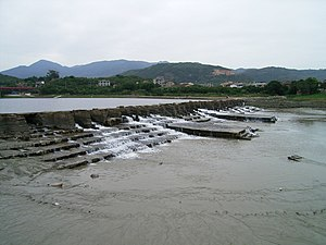 English: Mulanpo Irrigation System built in th...