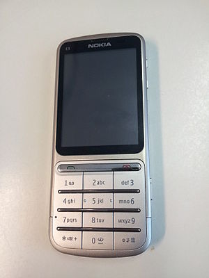 The Nokia C3-01 cell phone