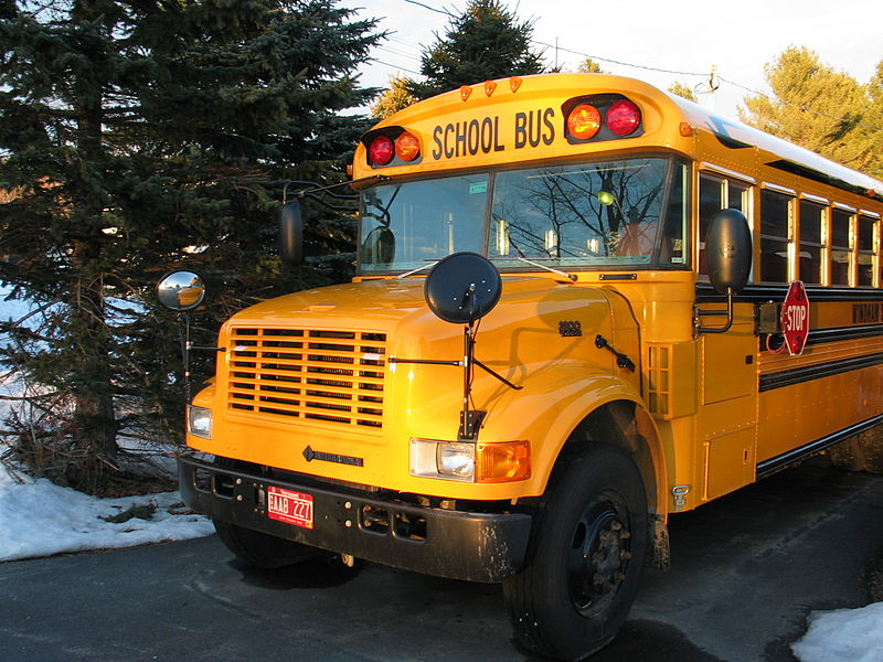 Photo of a school bus