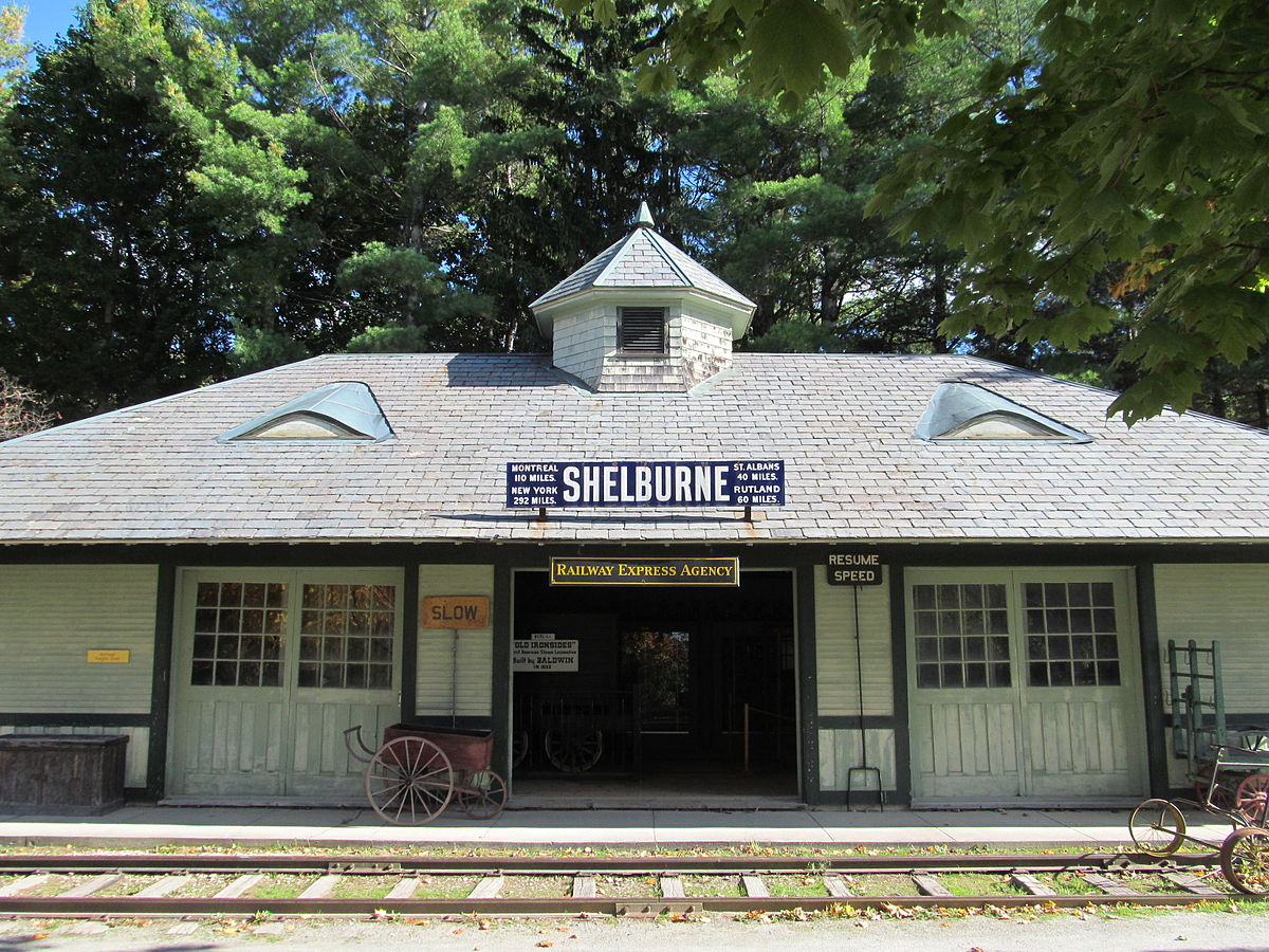 Shelburne Railroad Station And Freight Shed