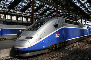 TGV Duplex at Gare de Lyon (Paris)