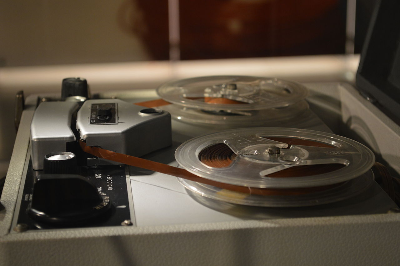 Image result for reel to reel audio 1950s