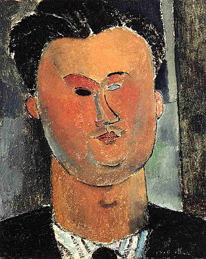 Deutsch: Amedeo Modigliani: Pierre Reverdy