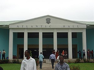 English: Atlantic Hall, Poka-Epe