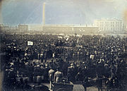 The Great Chartist Meeting on Kennington Common
