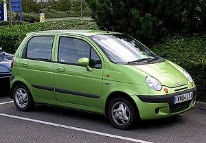 2004 Daewoo Matiz in Bristol, England. Taken b...