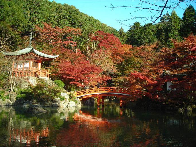 Daigo-ji in autumn, Kyoto