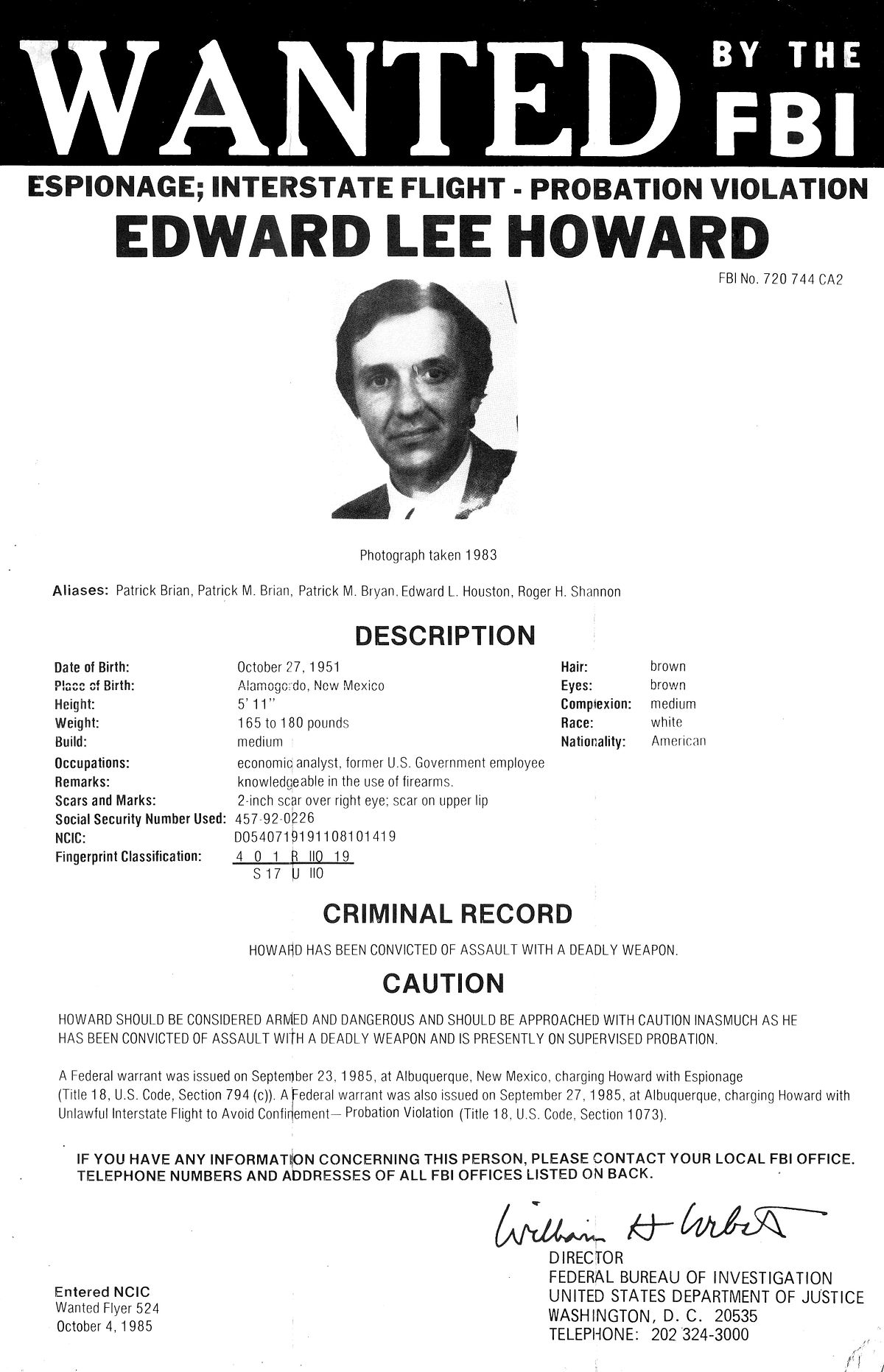 Edward Lee Howard Wikipedia