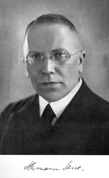 Norsk (bokmål): Hermann Sasse.