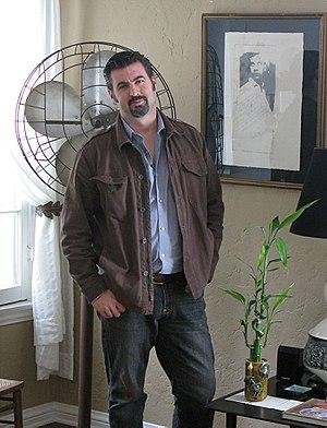 English: JC Hryb, interior designer/owner of S...