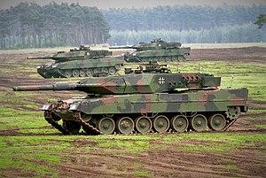 leopard 2 alman tankı
