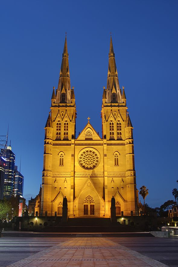 File:St Mary's Cathedral, Sydney HDR.jpg - Wikipedia