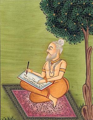 Valmiki, a contemporary of Rama composes the R...