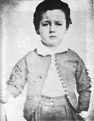Emile Zola à six ans, 1846