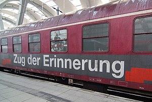 Zug der Erinnerung (Holocaust memorial train 2...