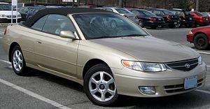 2000-2001 Toyota Solara photographed in Colleg...